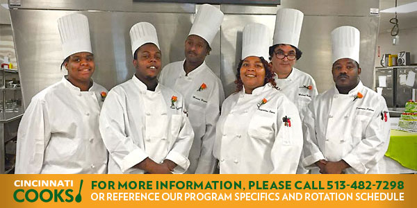 Cincinnati COOKS! Culinary Job Training Programs