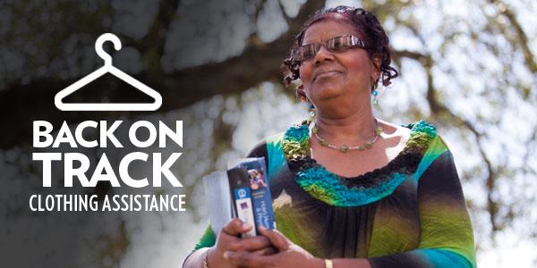 Donate Cincinnati - Back On Track - Clothing Assistance