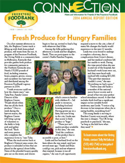Freestore Foodbank Annual Report 2014