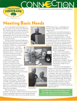 Summer 2015 Newsletter Freestore Foodbank