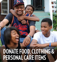 Donate Clothing & Personal Care Items
