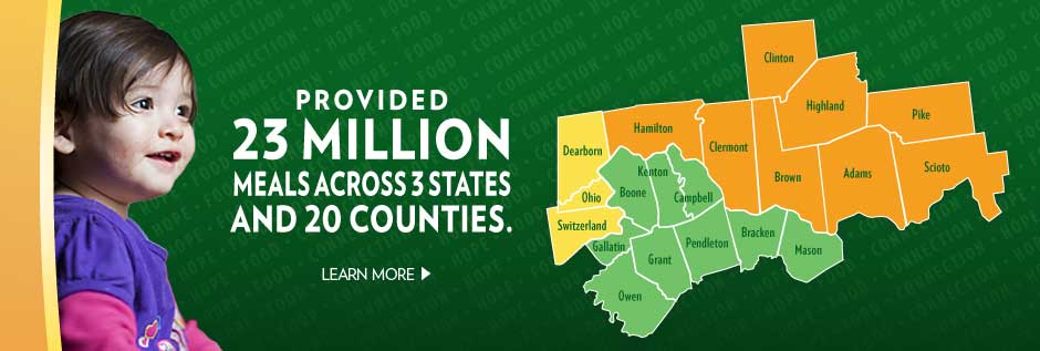 Provided 23 million meals across 3 states and 20 counties.