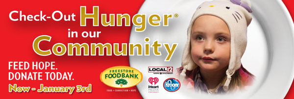 Check Out Hunger in our Community - Feed Hope Donate Today