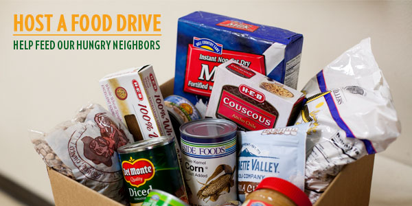 Thank you for your interest in hosting a canned food drive. We truly appreciate your support as we work to provide more than 24 million meals annually to our hungry neighbors in the Tri-State area. Please click here for information on hosting a canned food drive.