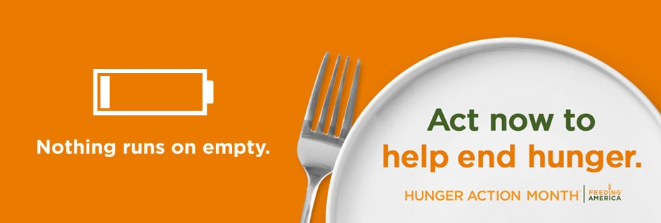 Hunger Action Month - Feeding America