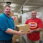 Freestore Receives Chicken Donation