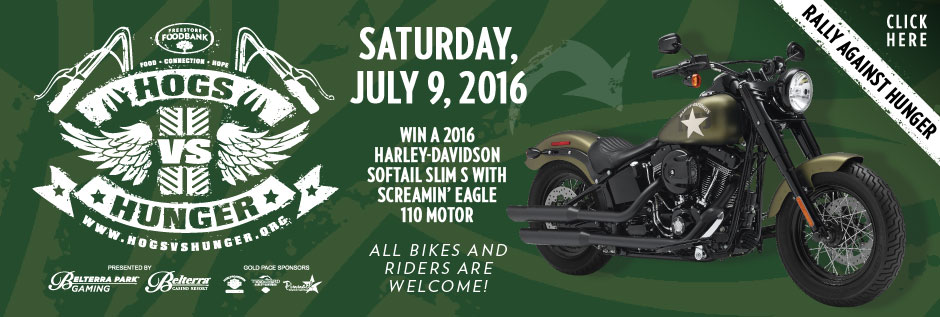 Hogs vs Hunger - Saturday, July 9, 2016