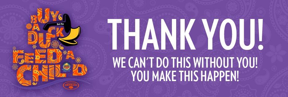 Thank You - Rubber Duck Regatta