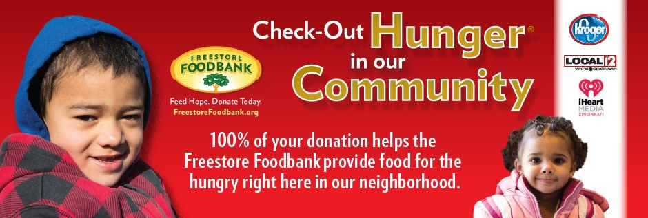 Check-Out Hunger in our Community at Kroger