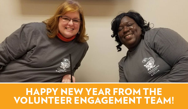 Happy New Year from the Volunteer Engagement Team!