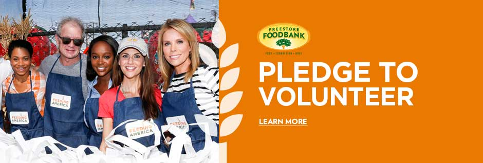 Pledge To Volunteer - Feeding America