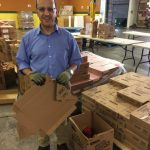 Farzin Sabet, Mayerson Distribution Center Volunteer
