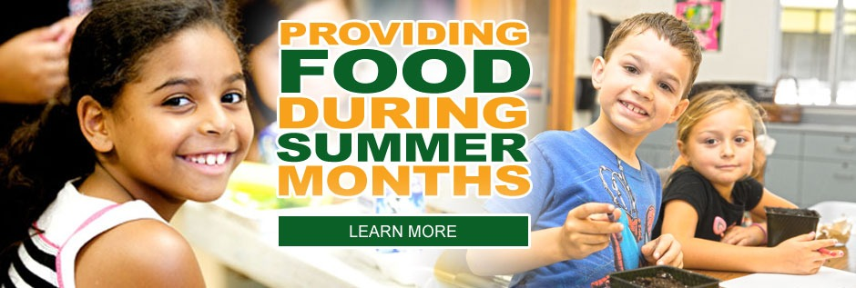 Feeding Kids During The Summer Months