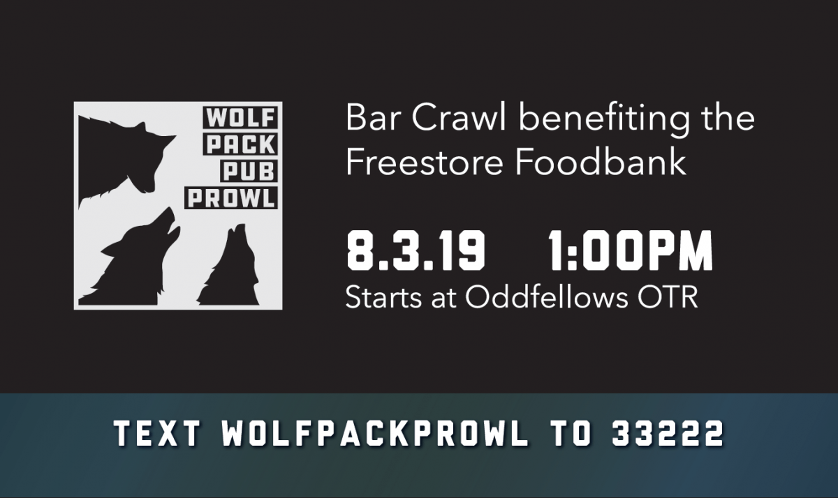 Wolf Pack Pub Prowl @ Starts at Odfellows