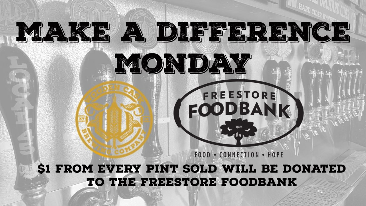 Make a Difference Monday at Wooden Cask Brewing Company