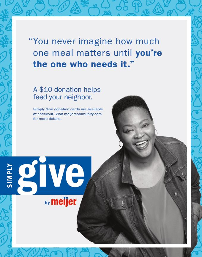 Meijer Simply Give @ Meijer Locations