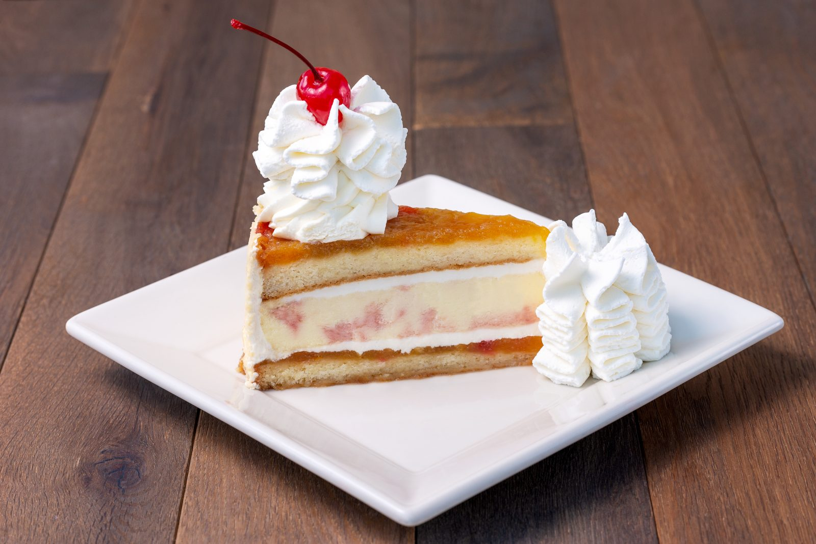 Enjoy Pineapple Upside-Down Cheesecake at Cheesecake Factory and support Freestore Foodbank!