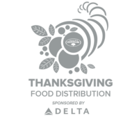 Thanksgiving Food Distribution sponsored by DELTA