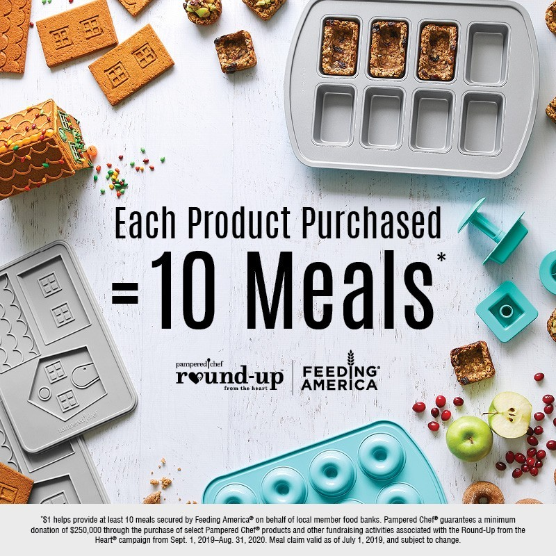 "Pampered Chef ""Round-Up From The Heart"""