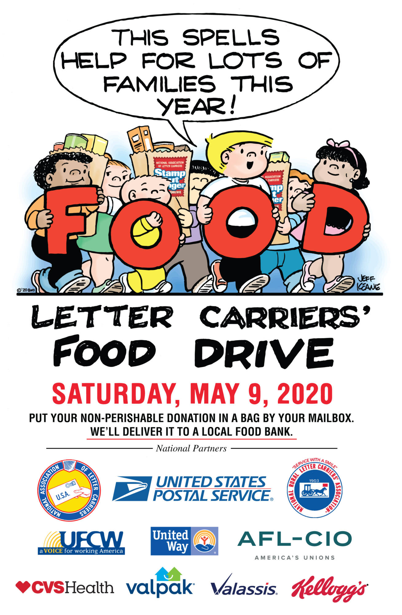 POSTPONED: USPS Stamp Out Hunger Food Drive