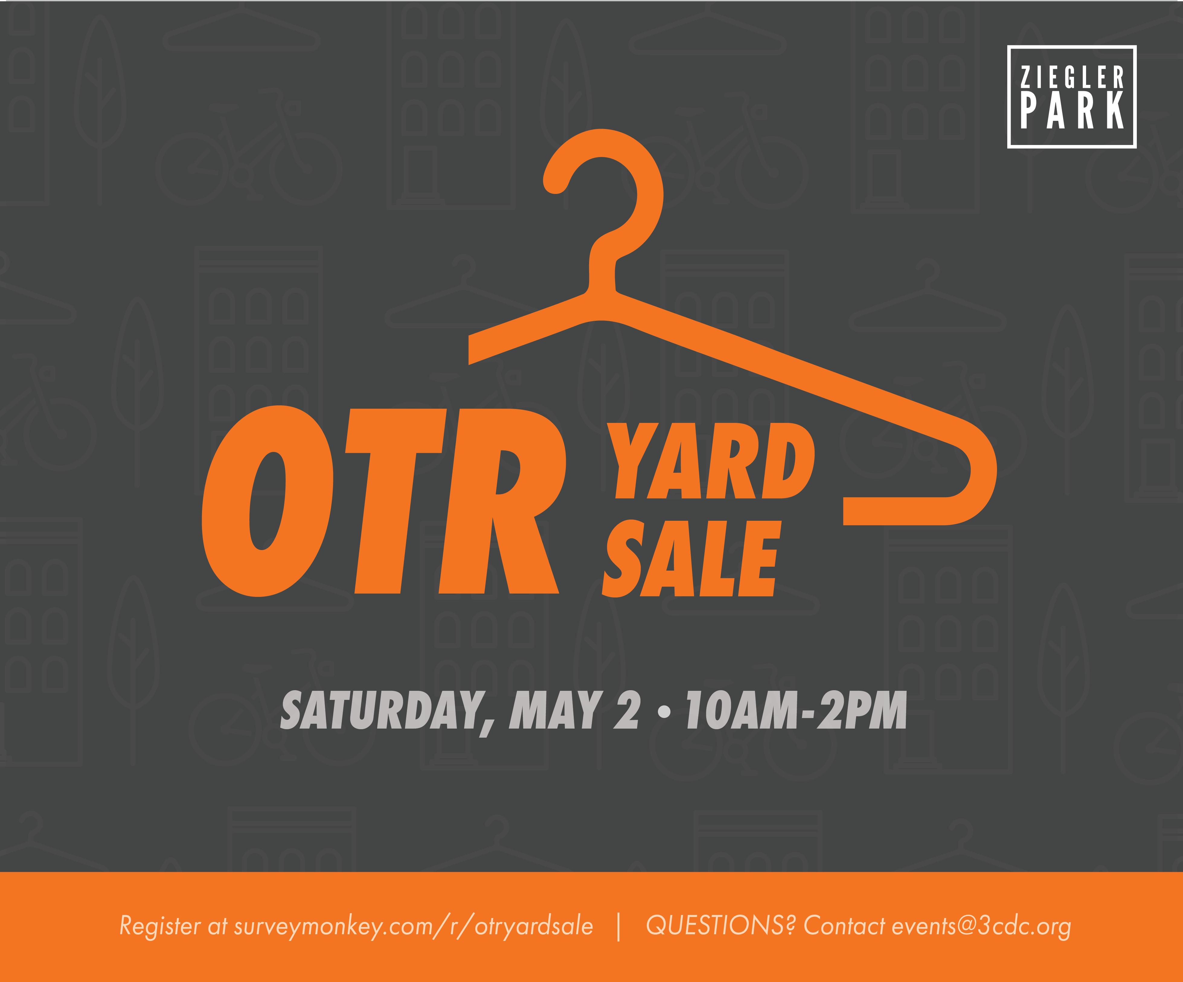 CANCELLED: OTR Yard Sale @ Ziegler Park