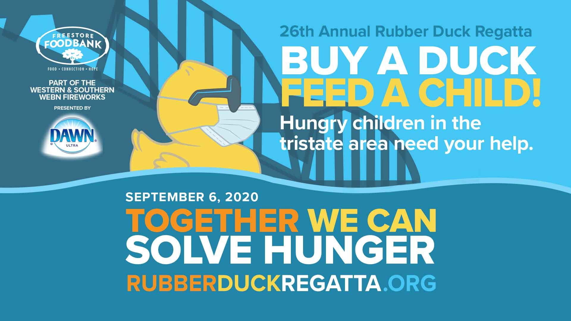 Rubber Duck Regatta - Buy A Duck - Feed A Child