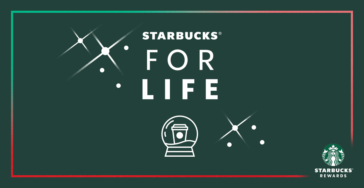 Starbucks For Life Holiday Campaign