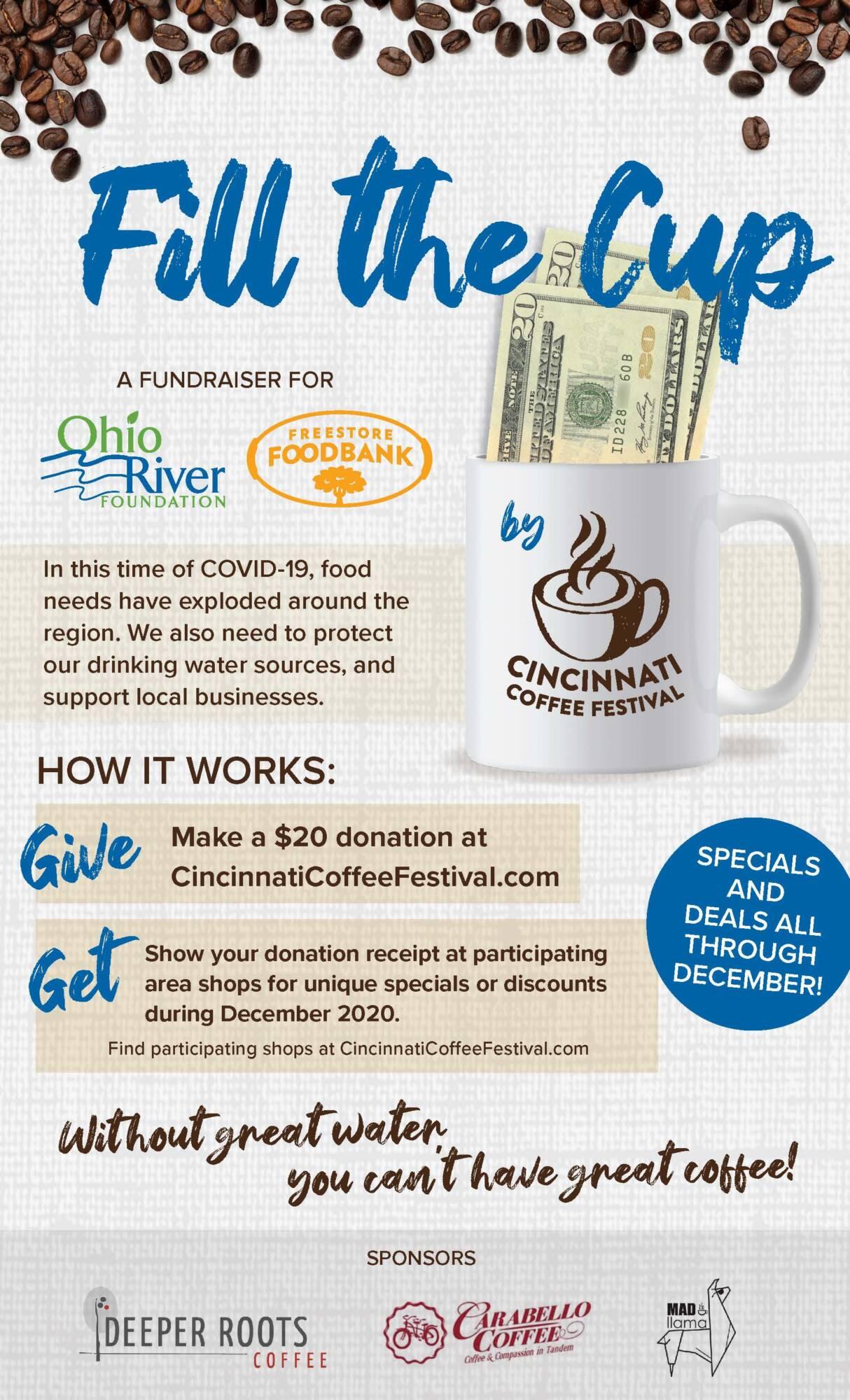 Cincinnati Coffee Festival to 'Fill the Cup'