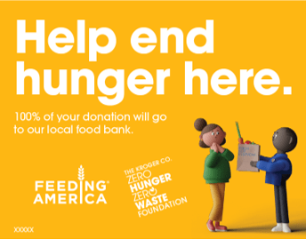Help End Hunger Here Campaign